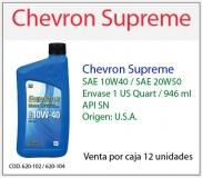 chevron10w40litro